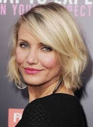 20 Bob Hairstyles for women over 50 – Be hot and happen - Medium Hair Styles Oval Face Hairstyles, Layered Bob Hairstyles, Fast Hairstyles, Celebrity Hairstyles, Pretty Hairstyles, Hairstyle Ideas, Woman Hairstyles, Bob Haircuts For Women, Long Bob Haircuts