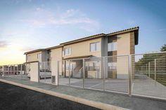 O Vida Nova Sobrado está localizado no Povoado Sobrado, S/N, Nossa Senhora do Socorro/SE. O empreendimento será composto por 187 sobrados, cada sobrado possui 8 apartamentos - Immobile Arquitetura