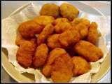 Receita Nuggets de frango - bimby, Muito Fácil, Entrada