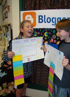 A Full Classroom: Paper Blogs