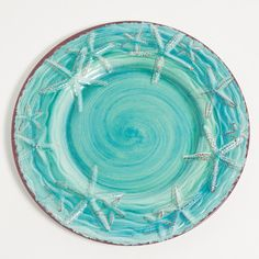 "Found it at Wayfair - Raised Starfish 11"" Melamine Dinner Plate"