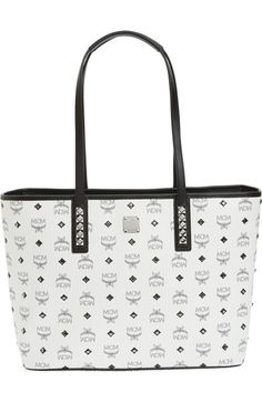 878d884f6e82 MCM Medium Anya Studded Tote available at  Nordstrom Diy Purse