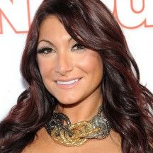 "How Much Is Deena Nicole Cortese Worth? Deena Nicole Cortese is a reality television star whose claim to fame is the television serial ""Jersey Shore"" that airs Deena Cortese, Celebrity Plastic Surgery, Baywatch, Celebs, Celebrities, Net Worth, Reality Tv, Mtv, Body"