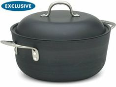 7-qt. Commercial Hard-Anodized Chef's Casserole by Calphalon by Calphalon at Cooking.com #holidaycooking