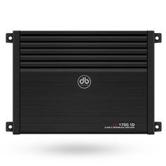 Amplificador DB Drive A8 1750.1D Clase D Monoblock de 750 Watts.