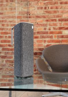 Lounge & Live Libratone Speakers in Wool. Perfectly concealed.