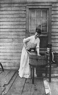 vintage laundry photo