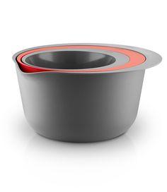 Bowl/colander set by Eva Solo