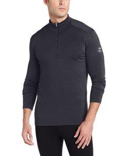 Icebreaker Oasis - Camiseta de compresión de manga larga para hombre (térmica, media cremallera) gris gris Talla:medium #regalo #arte #geek #camiseta