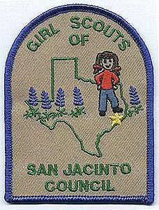 Girl Scouts Embroidered Fun Patch Badge~Juliette Gordon Low Golden Eaglet