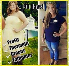 Before and after 90 day challenge. #itworks