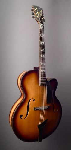 2002 HUERGA La Somori Toime - Archtop Hollowbody Electric Acoustic Guitar | Dream Guitars