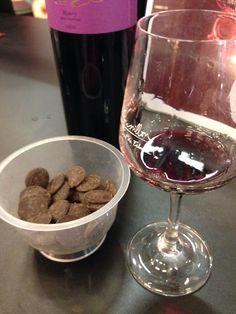 Chocolate and wine tasting at Salon du Chocolat Paris 2013