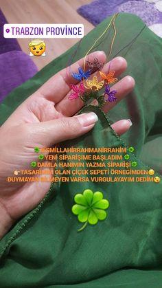 İğne Oyası Üçlü Çiçek Modeli Y | elişi örgü mod