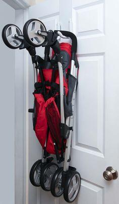 StrollAway Over the Door Stroller Storage Hanger - Best Price