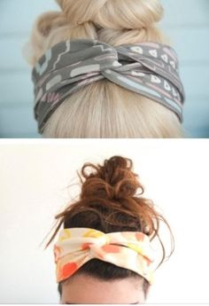 DIY headband! #love #hair oh my goodness.