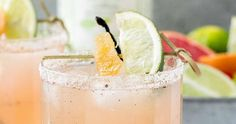 Our sweet and refreshing Grapefruit Ginger Vanilla Margarita tastes just as good as it looks. Set up a margarita station at your Memorial Day get together and your guests will be lining up for more. Allure Flooring, Brand Campaign, Moscow Mule Mugs, Grapefruit, Memorial Day, Margarita, Heavenly, Vanilla, Deserts