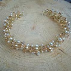 Bridal Headpiece, Crystal Bridal Hair Piece, Cristal Bridal Headpiece, Bridal Hair Halo, Crystal Wedding Hair Piece, Wedding Jewellery. by RoyalAccessoriesAE on Etsy