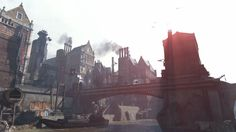 The city of Dunwall from Dishonored | 36 Beautiful Landscapes That Prove That Video Games Are Art