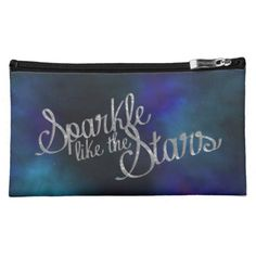 Sparkle like the Stars Cosmetic Bag