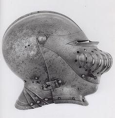 German    Close Helmet, 1530    Steel  H. 20.3 cm (8 in.)