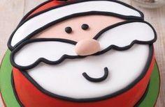 Jolly Santa cake - 40 Christmas cake ideas