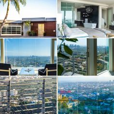 Luxury Real Estate Search features a glass house above #SunsetStrip listed by #peterlorimer 3 bedrooms, 5 bathrooms in 4,300 square feet of living space offered at $4,495,000 #HollywoodHills #view #LosAngeles #California #luxury #realestate #LuxuryHomes #luxuryrealestatesearch