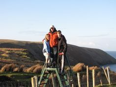 hiking in Carrowteige, Co. Mayo Ireland 7 Km loop walk on the wild atlantic way