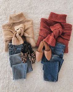 A versatile turtleneck sweater and denim jeans are the perfect winter essentials for chilly weather. Mix and match these staple pieces throughout the season for fresh cozy outfits. Winter Essentials Lulus lulusdotcom Best of New A versat Trendy Outfits, Cute Outfits, Fashion Outfits, Fashion Ideas, Cozy Winter Outfits, Fall Outfits, Casual Winter, Winter Essentials, Closet Essentials