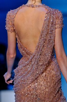this gorgeous Elie Saab confection would make a great blouse.