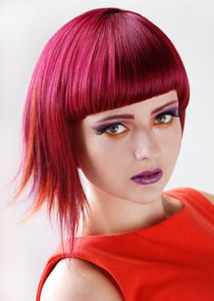 GOLDWELL Australia : ColorZoom Challenge 2012 : People's Choice Awards (I think I want to go pink again!)