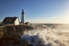 Lighthouse sea ocean f wallpaper background