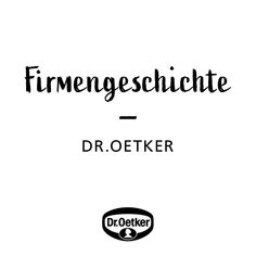 Firmengeschichte - 125 Jahre Dr. Oetker Historie #firmengeschichte #droetker Arabic Calligraphy, Math Equations, Product Engineering, Time Travel, Memories, Things To Do, History, Arabic Calligraphy Art