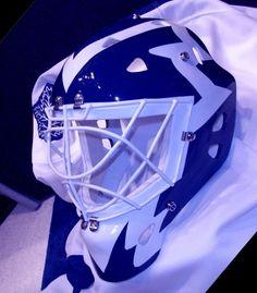 allen bester vintage goalie masks Goalie Mask, Masked Man, Nhl, Football Helmets, Hockey, Masks, Vintage, Primitive, Field Hockey