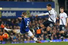 January 4 2016 - Dele Alli scores a stunning volley as Spurs draw 1-1 with Everton