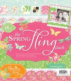 DCWV the Spring Fling stack...want this so bad!!
