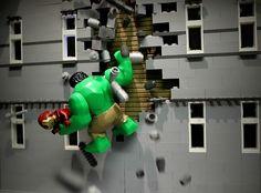 LEGO Hulk to the rescue by Legoagogo, via Flickr