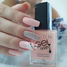 pretty french nails nagel winter and christmas nails art designs ideas 31 Nail Swag, Best Acrylic Nails, Acrylic Nail Designs, Cute Nails, My Nails, Pretty Nail Art, Nagel Gel, Nail Decorations, Perfect Nails