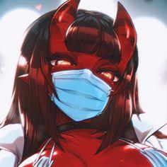 Sucubus Anime, Yandere Anime, Chica Anime Manga, Gothic Anime, Anime Fantasy, Dark Fantasy Art, Kawaii Art, Kawaii Anime Girl, Anime Art Girl