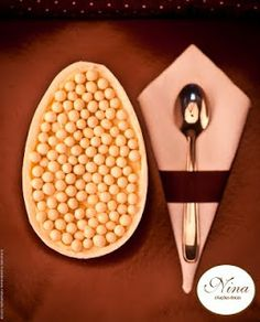 Nina Criações Doces: Ovo de Colher (Trufa Branca)