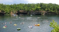 The Offsets - Fredrickson Missouri  Going here Wednesday for cliff diving and camping!