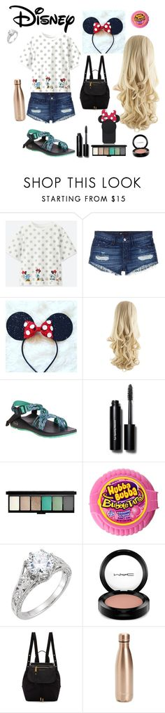"""""""Minnie Mouse"""" by kayleerae-hoffman ❤ liked on Polyvore featuring beauty, Uniqlo, 3x1, Chaco, Bobbi Brown Cosmetics, MAC Cosmetics, Marc Jacobs, S'well and Kate Spade"""