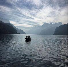 Lake #Lucerne #Switzerland (photo from #Brunnen)