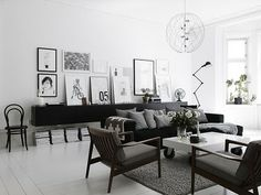Here we showcase a a collection of perfectly minimal interior design examples for you to use as inspiration. Check out the previous post in the series: 20 Scandinavian Interior Design, Scandinavian Living, Decor Interior Design, Modern Interior, Bakery Interior, Room Interior, Industrial Scandinavian, Scandinavian Chairs, Monochrome Interior