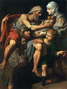 Leonello Spada (1576–1622) Aeneas and Anchises Date circa 1615