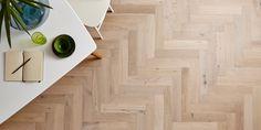 Hardwood Flooring Herringbone Pattern