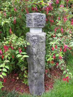 """DIY Concrete Lantern - detailed """"step-by-step"""" instructions"""