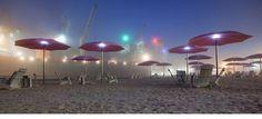 Christo 's Umbrellas in California and Japan two decades ago…