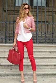 Pinko Blazers, Massimo Dutti Shirt and Elisabetta Franchi Pants