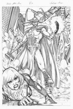 Gleidson Araujo: Avengers - Sample page